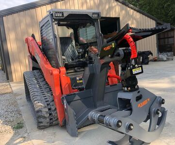 image of tree cutting machine for Midstate Land Clearing and Forestry Mulching LLC