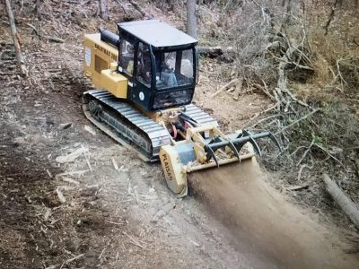image of mulching machine for Midstate Land Clearing and Forestry Mulching LLC